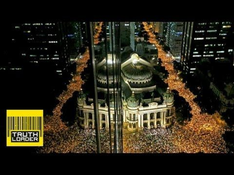 Brazil protests against World Cup and Olympics spending - Truthloader - YouTube
