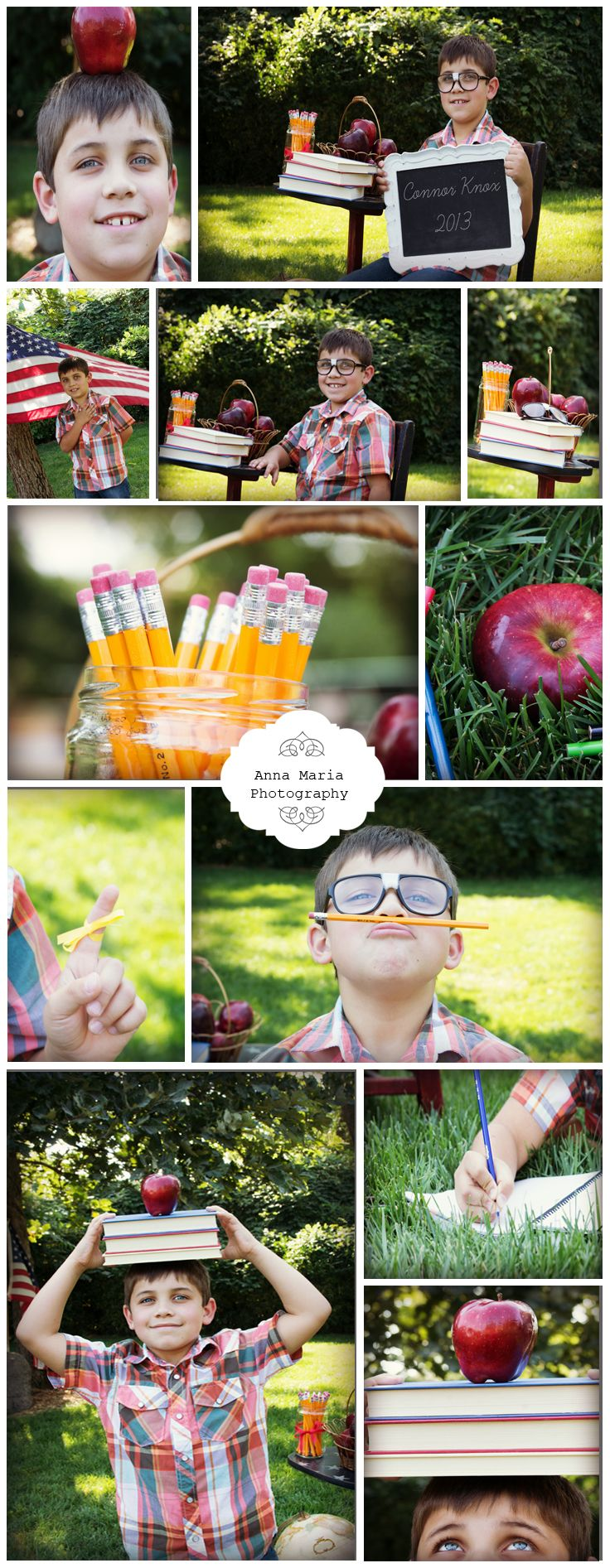 Back to School  photo shoot with Anna Maria Photography.