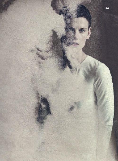 Saskia de Brauw for Wallpaper September 2013, ph. Paolo Roversi
