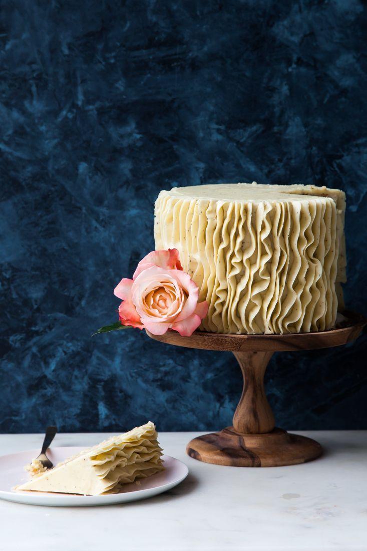 무글루텐 바닐라 런던 포그 케이크