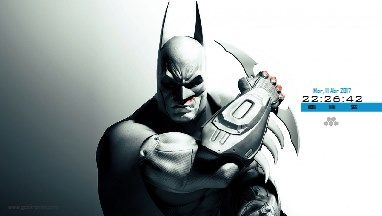 Batman Screensaver - protector de pantalla - clock