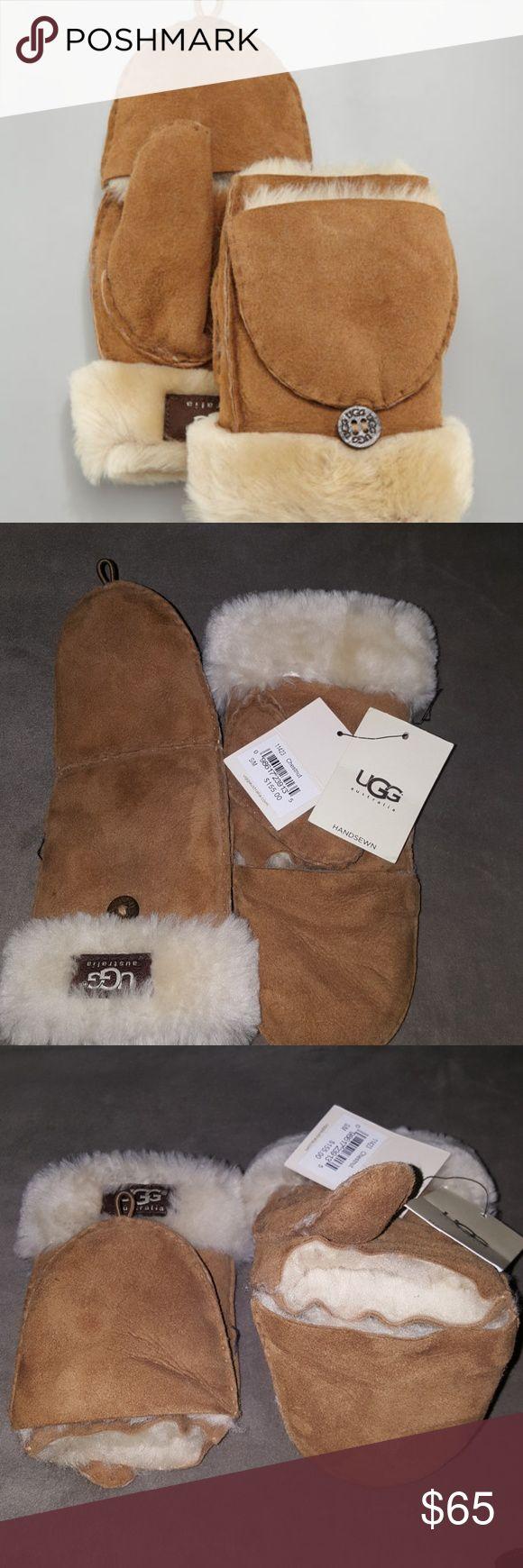 Uggs chestnut mittens Uggs mittens small/ medium UGG Accessories Gloves & Mittens