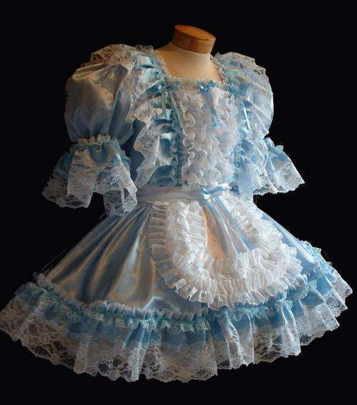 1000+ ideas about French Maid Costume on Pinterest | Maid ... Ruffled Satin Housemaid
