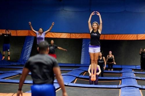 Have you seen the new fitness workout??  No joke - think of doing your HIIT workout on a trampoline!!!  Check out calories burned!!!