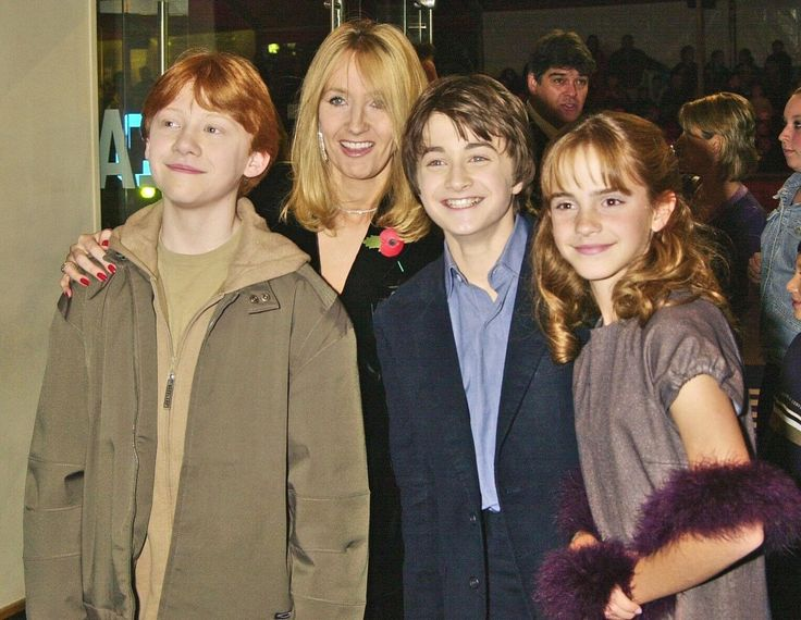 JK Rowling Writing Three 'Harry Potter' Inspired Films (VIDEO)