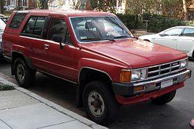 1st Toyota 4Runner N60