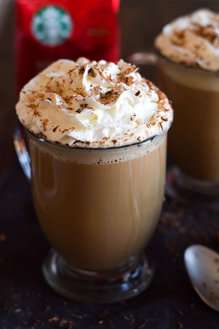 This Mexican Tres Leches Coffee topped with a mountain of whipped cream, cinnamon and chocolate shavings is easy to make at home and irresistibly yummy!