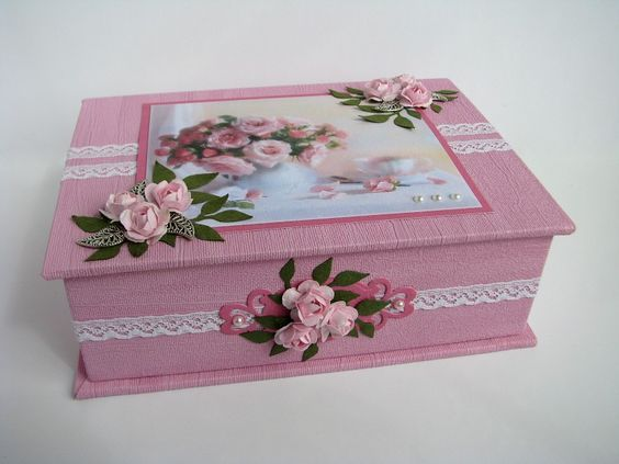 Scrapbooking, cards, bookbinding, boxes (cartonnage) and other paperwork blog.