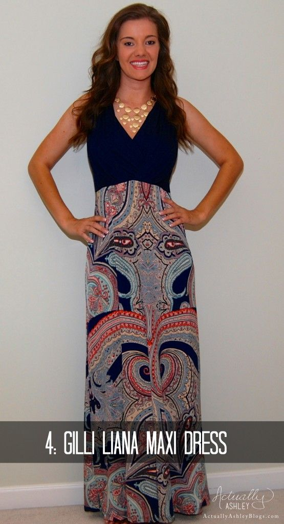 Stitch Fix Review Maxi Dress