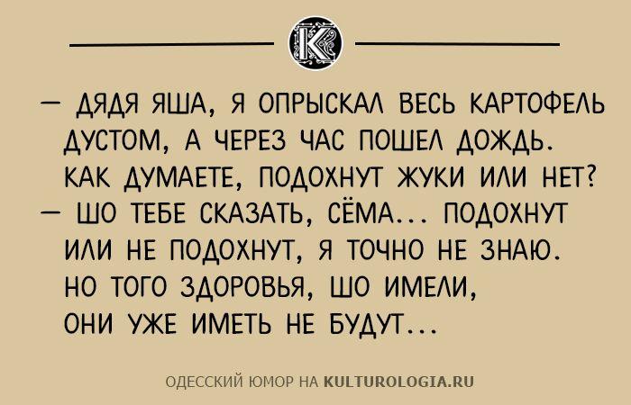 Чтоб я так жил, или 10 одесских анекдотов, которые не совсем и анекдоты (выпуск №2)
