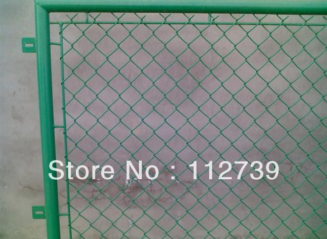 chain link fence panel 4812mm fence postin iron wire mesh