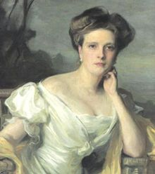 Princess Alice of Greece and Denmark painted by  Philip de László in 1907.