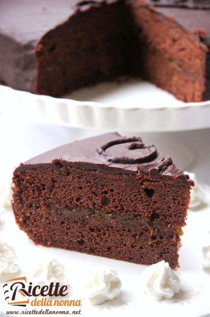 Torta Sacher #ricette #recipe #foodidea #foodcreative