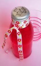 sirop de fraise cranberry au xylitol
