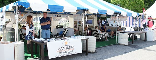 We teamed up with Ambler Fireplace & Patio for the 2014 Stotesbury Cup Regatta.