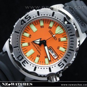BUY Seiko MONSTER Automatic Diver's watch Rubber divers watches SKX781K3 - Buy Watches Online | SEIKO NZ Watches