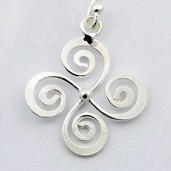 Love! Lauburu pendant