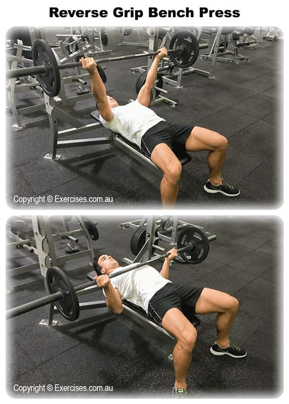 Benching Own Weight Part - 35: Reverse Grip Bench Press Is A Great Exercise To Add Size To Your Upper  Chest And