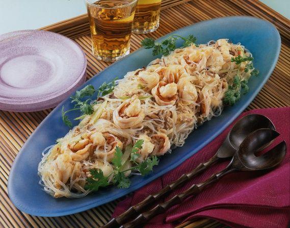 春雨のベトナム風サラダ
