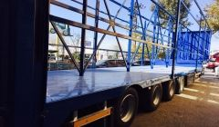 Curtainsider trailers by Alura Trailer