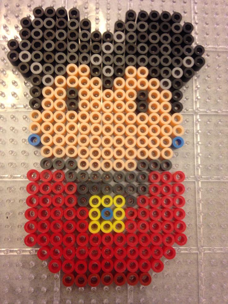 Disney Cinderella's evil stepmother perler bead