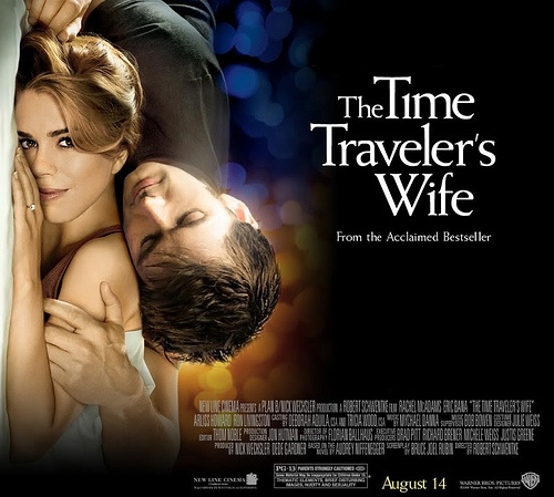 THE TIME TRAVELER'S WIFE MOVIE POSTER RE-IMAGINED WITH BILLIE PIPER AND DAVID TENNANT FROM DR WHO...