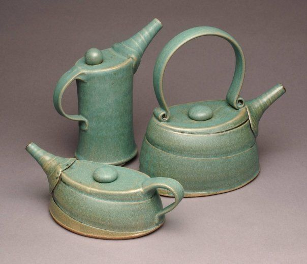 Teapots by Yael Shomroni Pottery