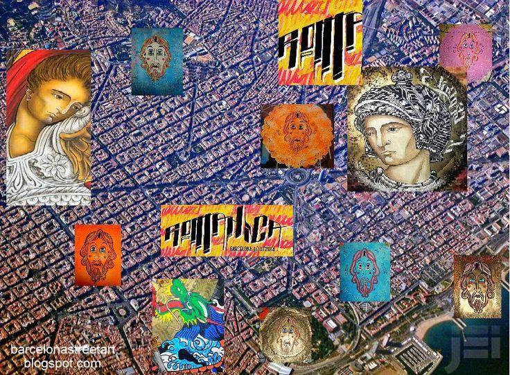 Mr Klevra + Omino 71 - Italian Street Artist - Barcelona (E) - 11/2014 - |\*/| #mrklevra #omino71 #streetart
