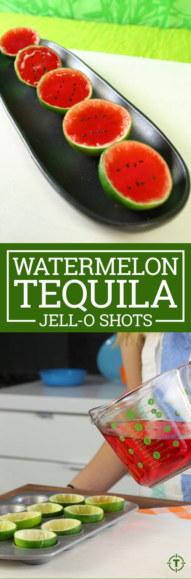 You Need to Make Watermelon Tequila Jell-O Shots This Summer