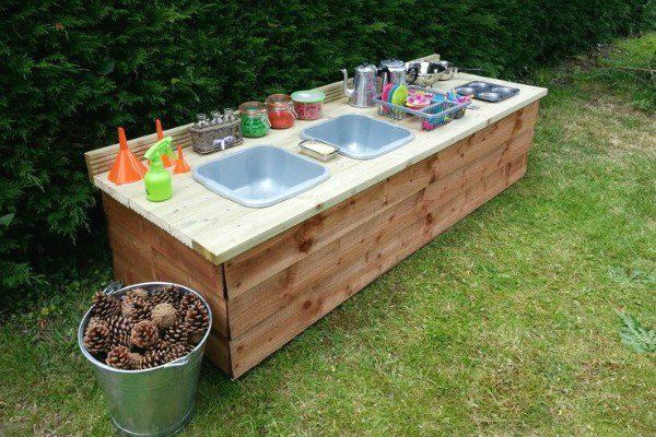 Outdoor Küche Für Kinder : Lustige ideen für outdoor schlamm küchen für kinder mit bezug auf
