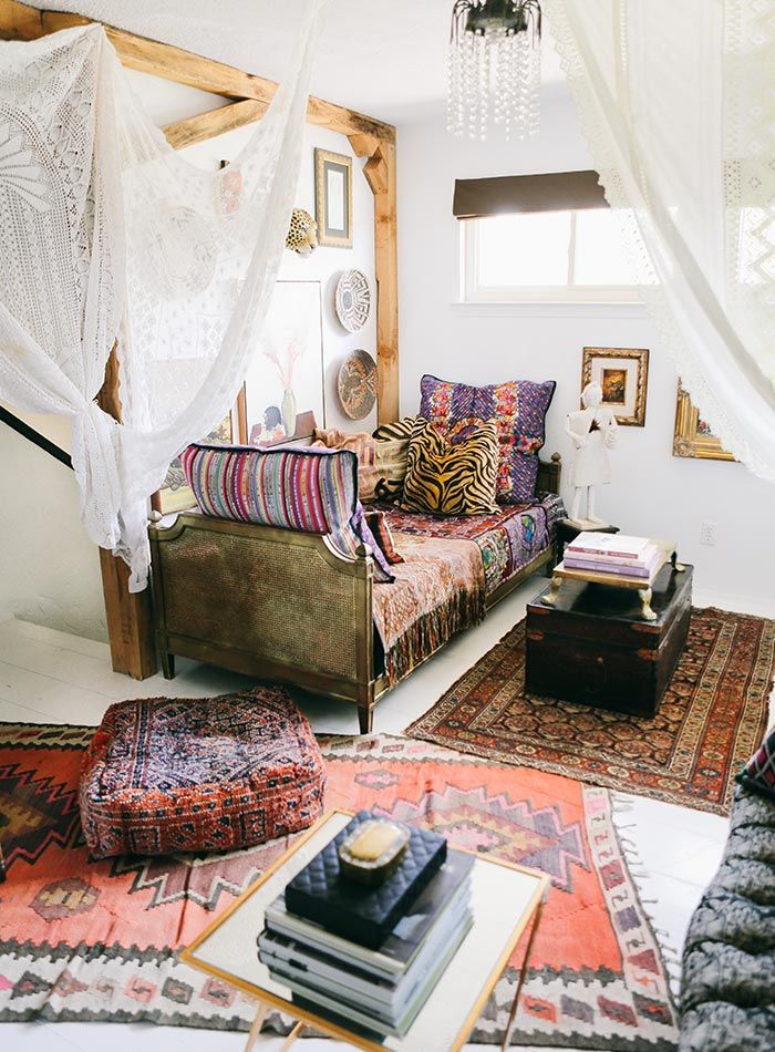 In North Texas, a Maximalist's Layered Bohemian Home | Design*Sponge