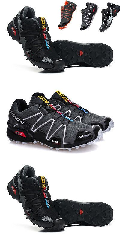 Mens 181392: Hot! Outdoor Men S Salomon Speedcross 3 Athletic Running Hiking Sneakers Shoes -> BUY IT NOW ONLY: $37.99 on eBay!