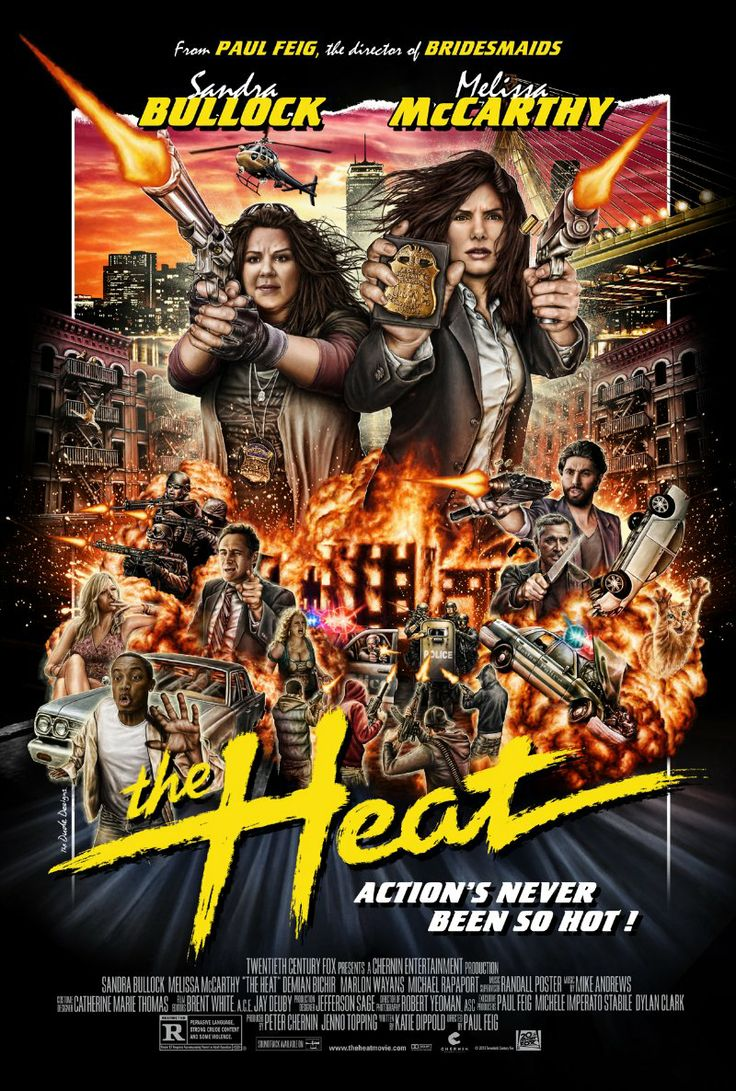 The Heat (2013) Poster ★★★ Watched out of boredom - surprisingly funny