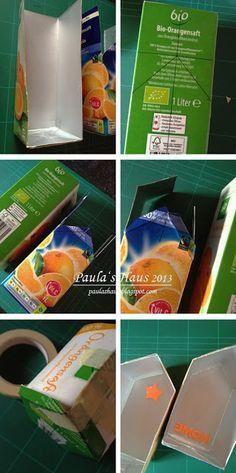 DIY Betonhaus aus Milchkarton                                                                                                                                                      Mehr