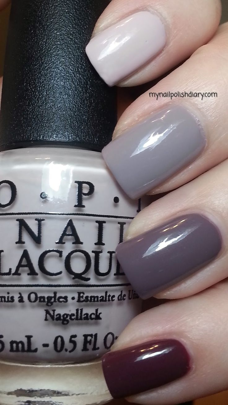 OPI Neutral Ombre Index: OPI Don't Bossa Nova Me Around Middle: OPI Taupe-less Beach Ring: I Sao Paulo Over There Pinky: OPI Scores A Goal