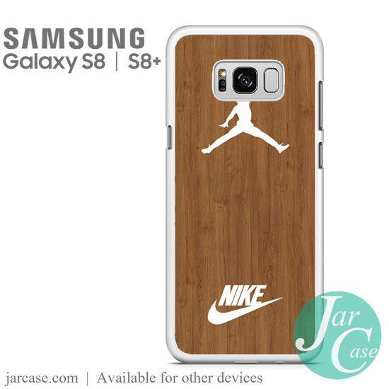 Nike Jordan Wood Phone Case for Samsung Galaxy S8 & S8 Plus