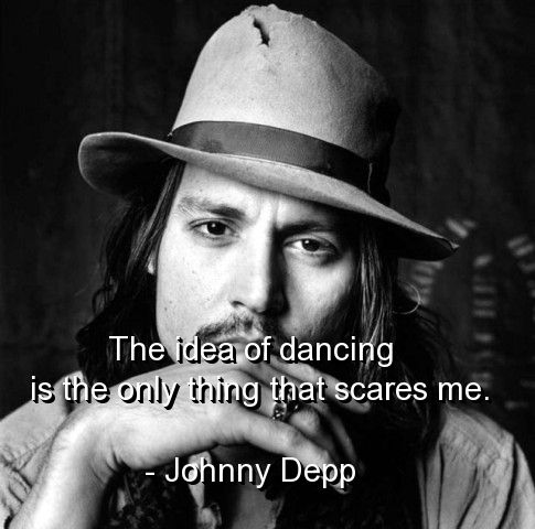 Johnny depp quote.