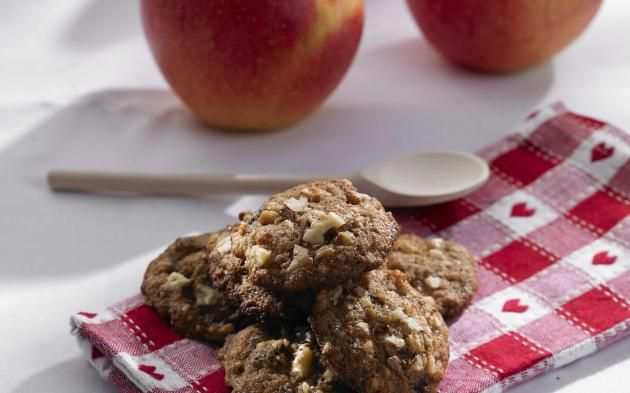 Jablkovo-skořicové cookies » Pečení je radost