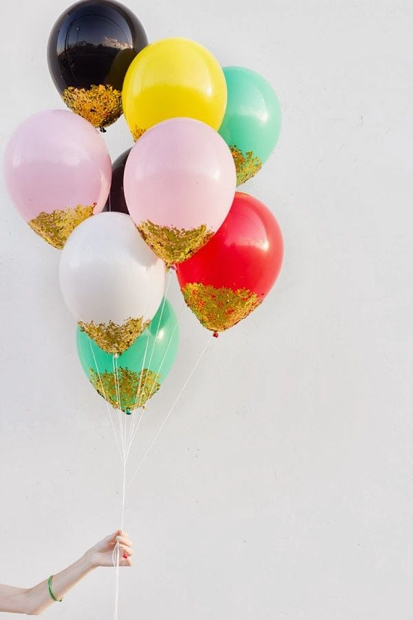 Bettinael.Passion  Diy: 15 Idées,sequins ballon paillette