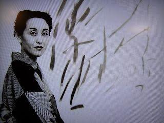 Toko Shinoda in her studio
