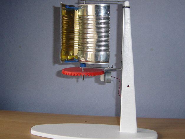 Éolienne Darrieus - Wind turbine by Makoto_Doushite - Thingiverse