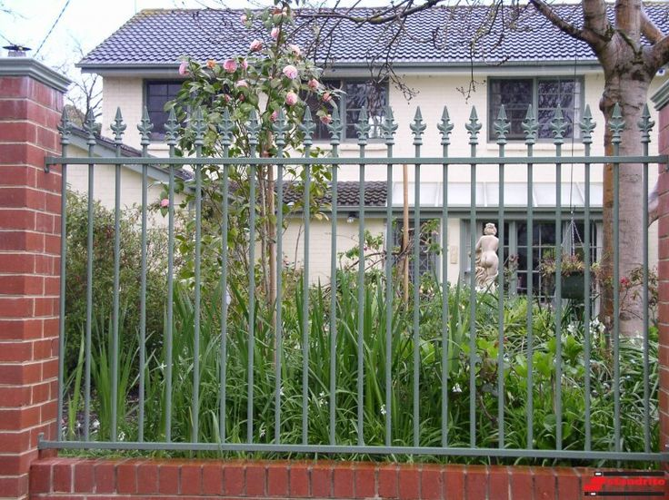 Standrite - Tubular Steel Fencing - St James Style