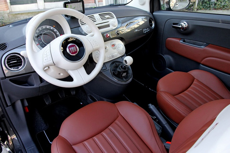 Interior of Fiat 500 Rock Millionaire (Dutch version) #fiat500