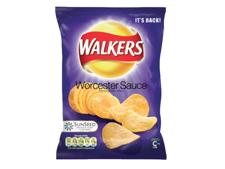 Walkers Worcester Sauce Crisps - World of Snacks
