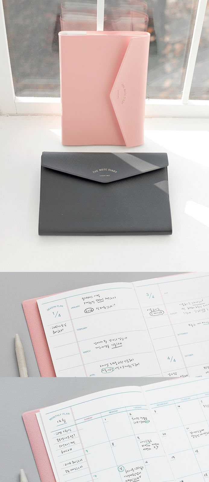 Simple, Classy and Super Useful! Ready to enjoy organized & productive life with The Note Diary Scheduler?