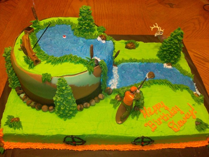 Rifle Layered Cake
