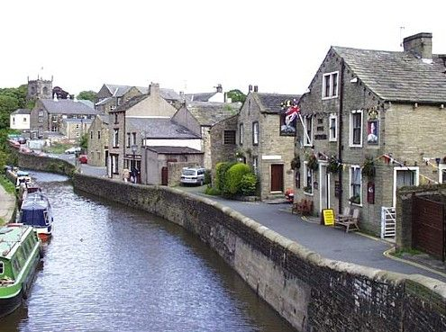 Skipton is a lovely town at the foot of the Yorkshire Dales