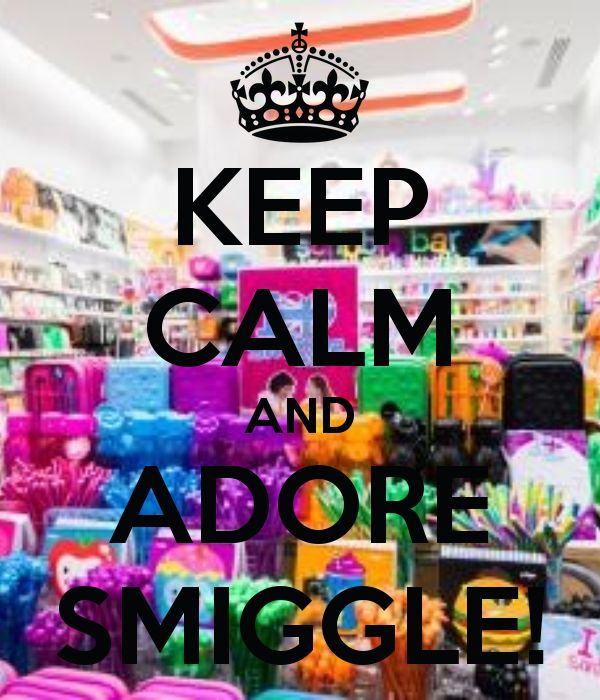 Every one MUST love smiggle