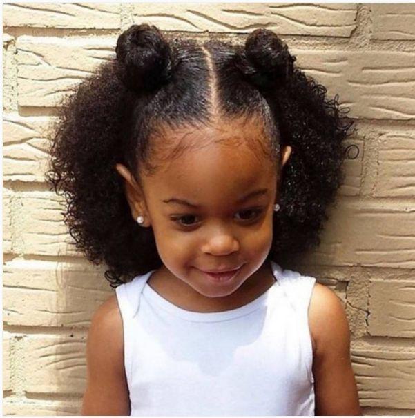 Wondrous 1000 Ideas About Black Children Hairstyles On Pinterest Hairstyles For Women Draintrainus