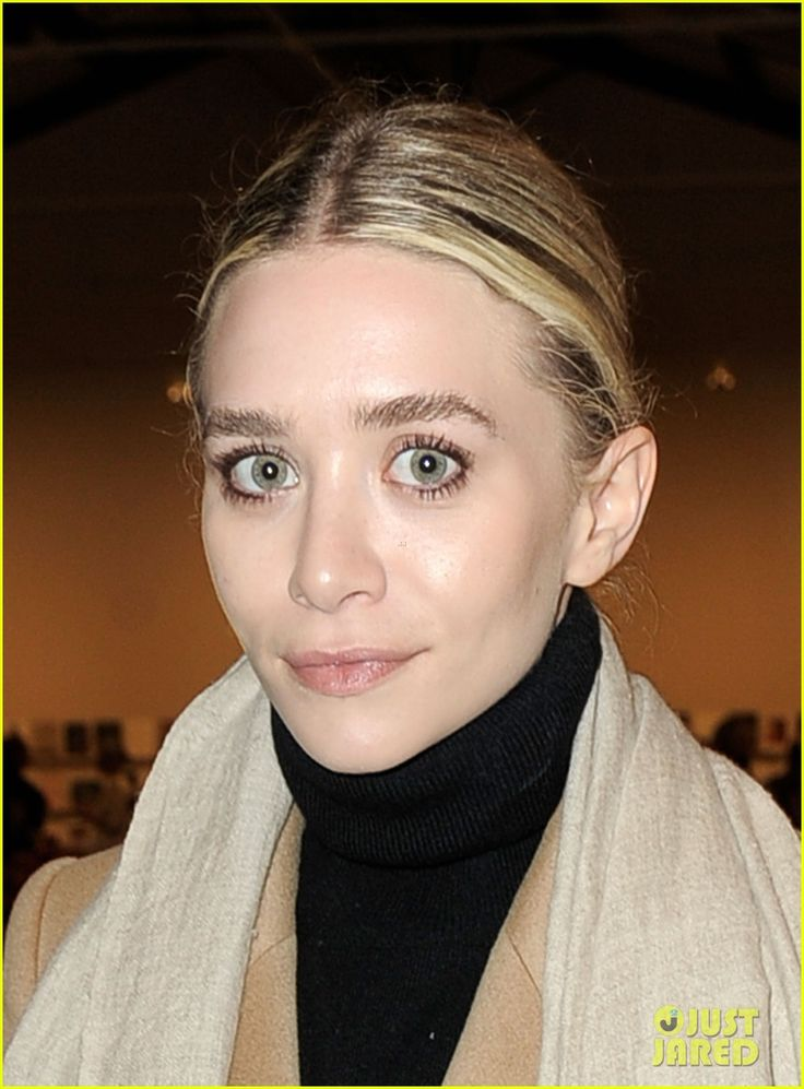 eyebrows and textured, pulled back hair  Ashley Olsen & Emmy Rossum: Precognito Gala in Santa Monica! | ashley olsen precognito gala 04 - Photo
